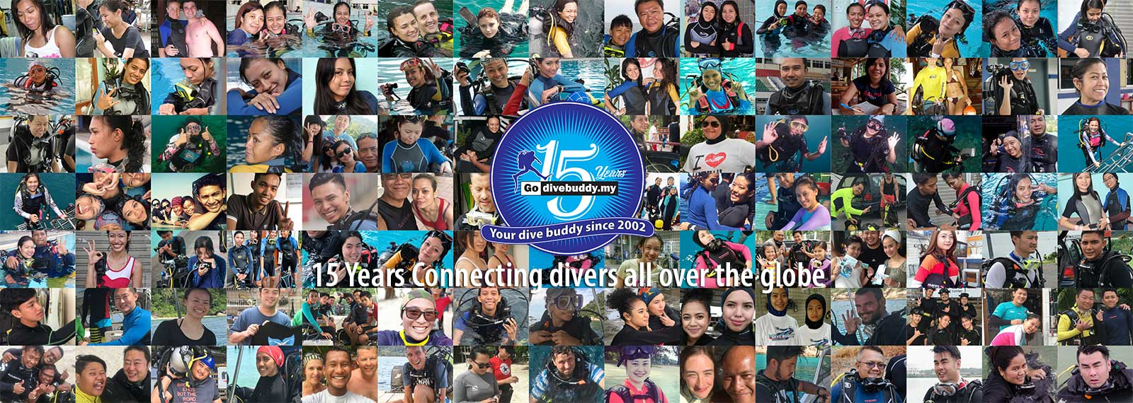 Dive Buddy 15th years anniversary