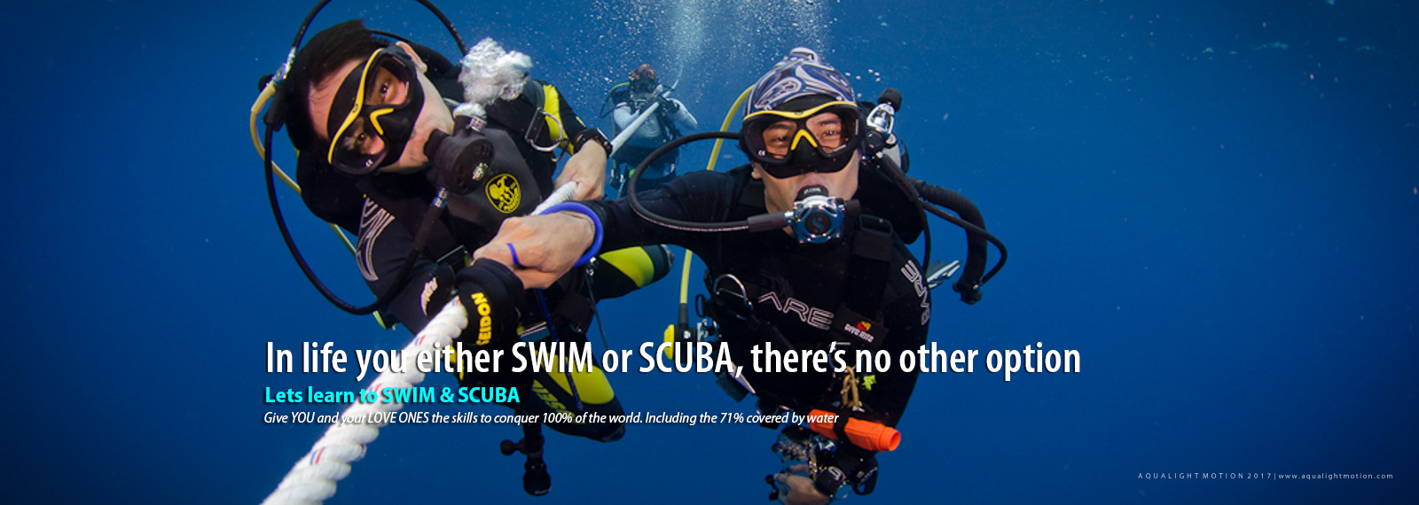 Learn to Swim and Scuba Diving