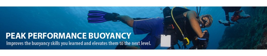 Peak performance buoyancy