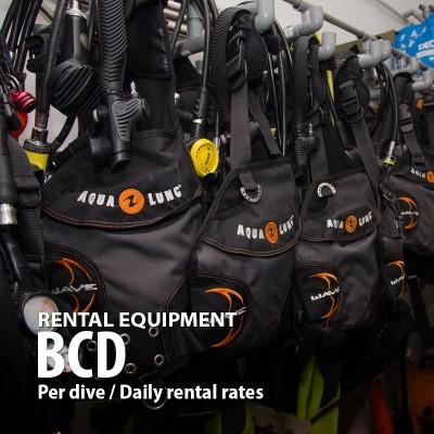 Buoyancy Compensation Device (BCD) Rental