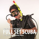 Full Set SCUBA Equipment Rental