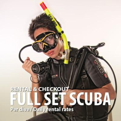Full Set SCUBA Equipment Rental
