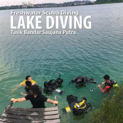 Tasik Bandar Saujana Putra Lake Scuba Diving