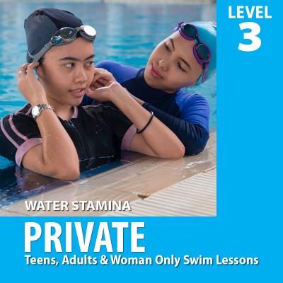 Private Swim Lesson | Level 3