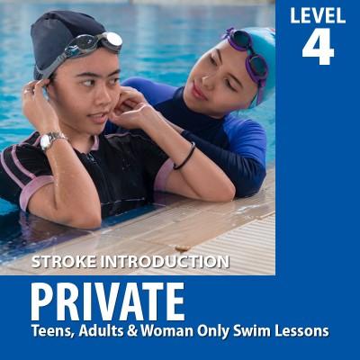 Private Swim Lesson | Level 4
