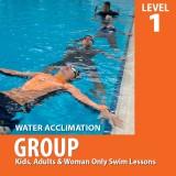 Group Swim Lessons (Level 1)