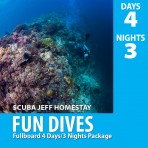 SCUBAJEFF MABUL 4D3N FULLBOARD FUN DIVE PACKAGE