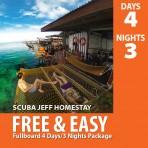 SCUBAJEFF MABUL 4D/3N FULLBOARD FREE & EASY PACKAGE