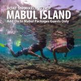 Snorkeling Mabul Island (Add-on)