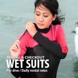 Wet suit rental