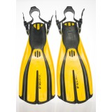 PRE-OWNED MARES PLANA AVANT X3 FIN (SIZE XS/YELLOW)