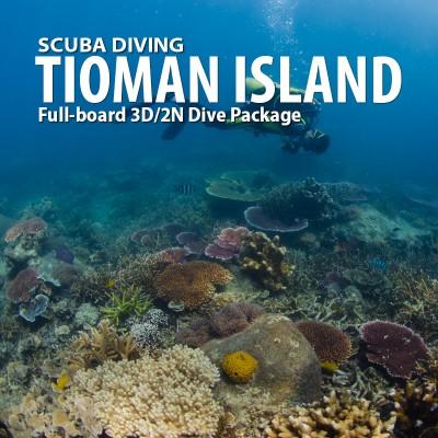 Tioman Island 3 Days/2 Nights Full board Scuba Diving Rates