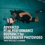 Advanced Peak Performance Buoyancy For Professional Underwater Videographer & Photographer
