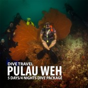 PULAU WEH 5D/4N SCUBA DIVING PACKAGE