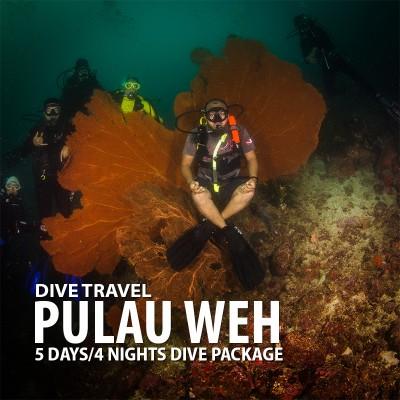 PULAU WEH 5D/4N SCUBA DIVING PACKAGE