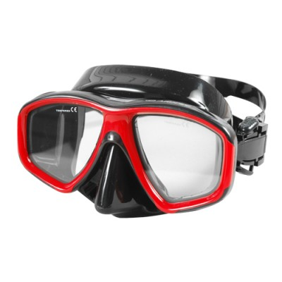 Aropec Beetle Dual Lens Mask - Black/Black