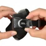 Aropec Sniper Dual Lens Low Volume Mask - Black/Black