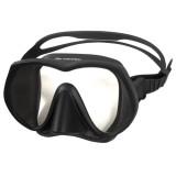 Aropec Basalt Single Lens Frameless Mask - Black/Black