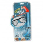 Silicon clear mask and snorkel for Kids