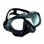 Poseidon Mask 3D - Black/Black, BS