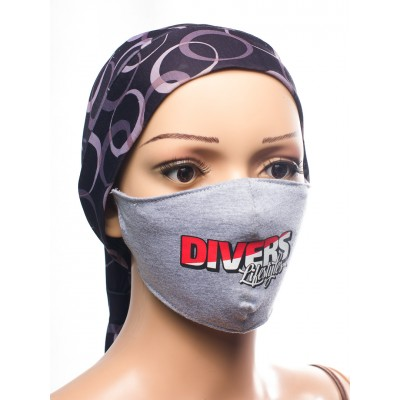 PRINTED COTTON FACE MASK-DIVERS LIFESTYLE