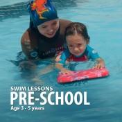 Pre-School Kids Swim Lessons