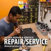 SCUBA Equipment Repair & Service